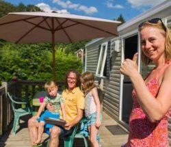Vacances en famille en camping nature dans les Vosges
