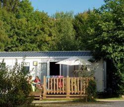 Camping Clos de la chaume : bungalow dans les Vosges