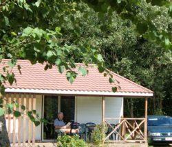 Chalet Cosy dans les Vosges, camping Au Clos de la Chaume