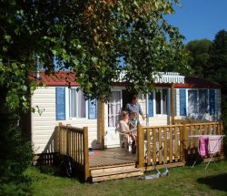 Camping Clos De La Chaume : Cottage Chene