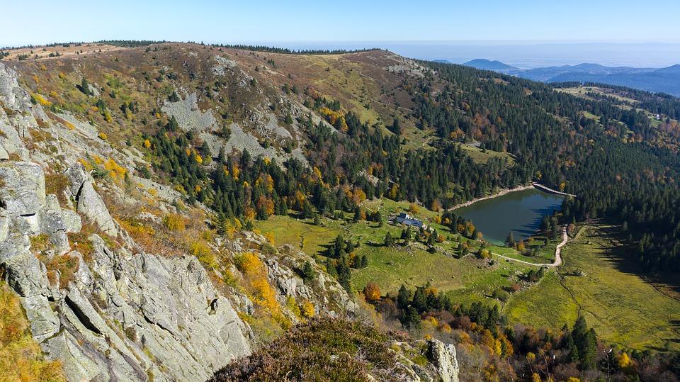 Camping Clos De La Chaume : Nature Lac Vosges