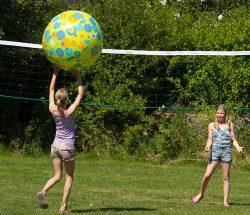 Volley au Clos de la Chaume, camping sites et paysages dans les Vosges