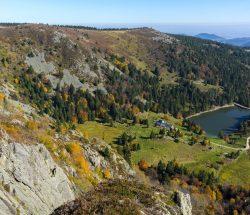Camping Clos De La Chaume : Vue Panoramique Du Parc Naturel Des Ballons Des Vosges