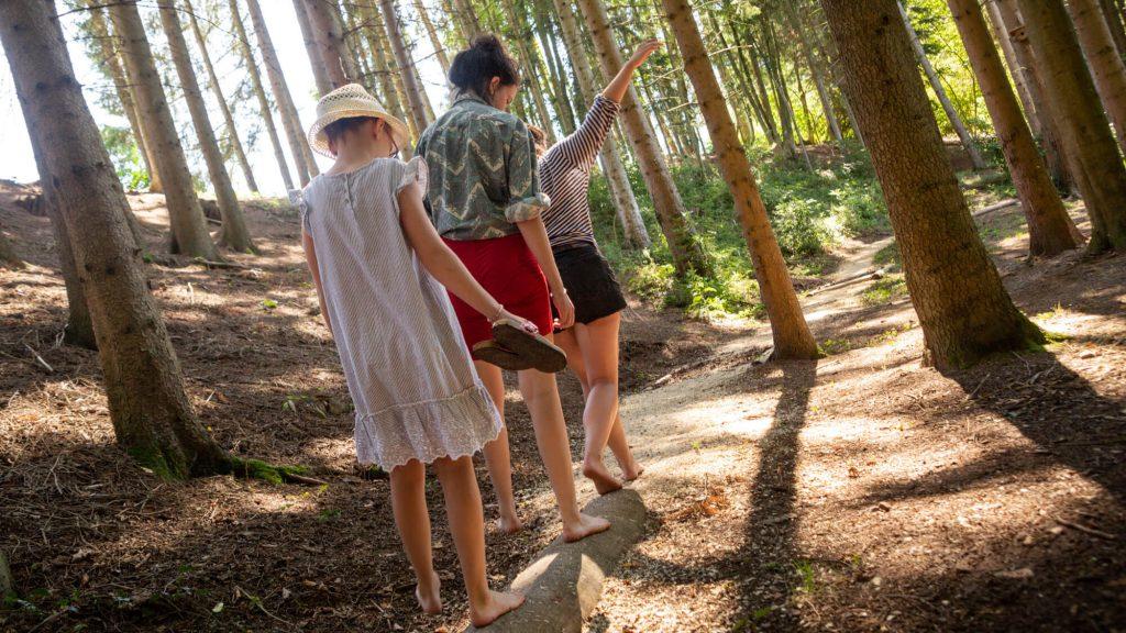 Camping Clos De La Chaume : Parcours Pieds Nus