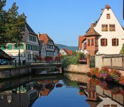 Camping Clos De La Chaume : Architecture Alsace