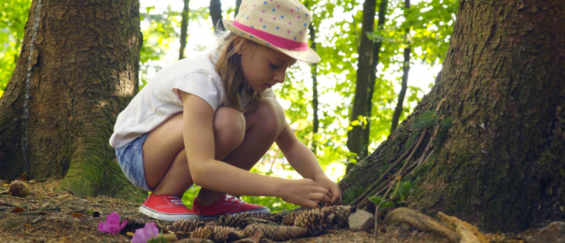 Camping Clos De La Chaume : Atelier Cabane Mini Club Nature