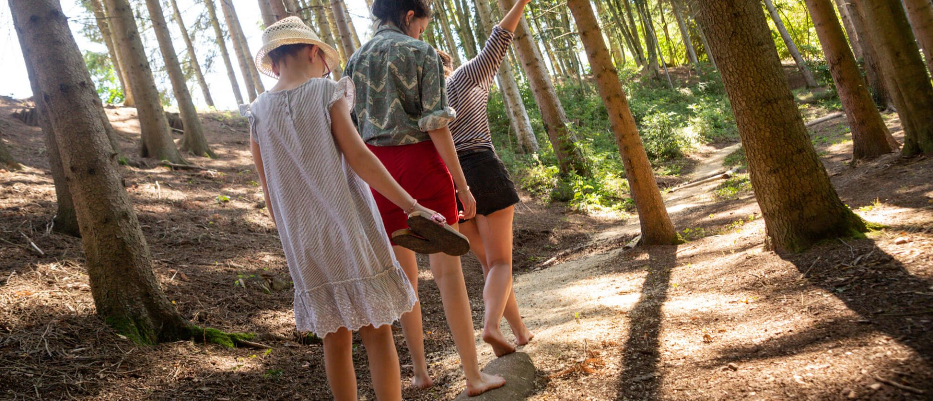Camping Clos De La Chaume : Parcours Pieds Nus Camping dans les Vosges