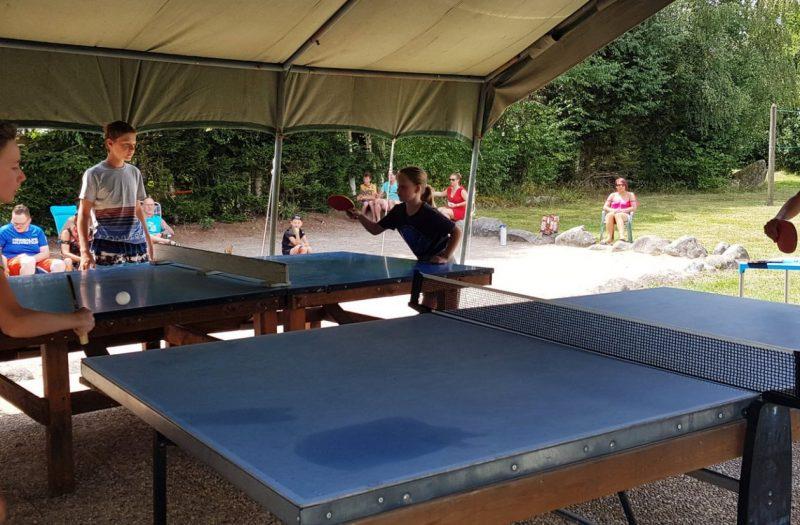 Camping Clos De La Chaume : Ping Pong au Camping Vosges