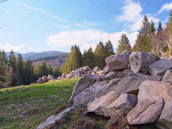 Camping Clos De La Chaume : Camping Vosges, Vue Sur Le Massif Des Vosges