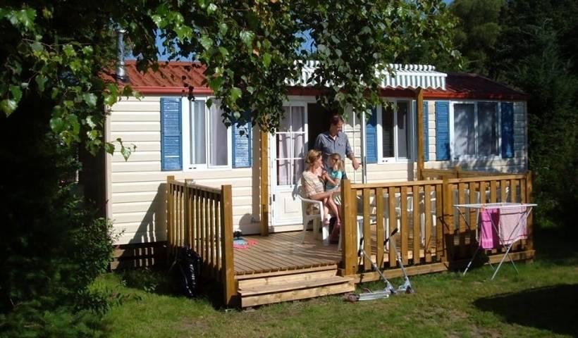 location de mobil home au camping Clos de la Chaume dans les Vosges